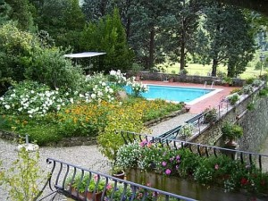 Garden With Pool at Main Villa Site